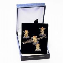 SCOTS - Cufflinks, Tie Slide or Boxed Set from